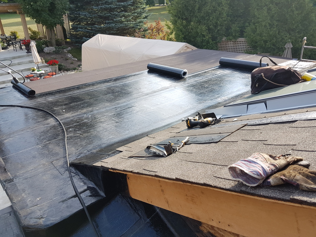 Flat Roof Repair And Siding Mississauga Gta Ontario
