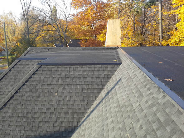 Residential Flat roof construction Toronto