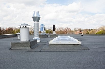 Single ply flat roof richmond hill toronto