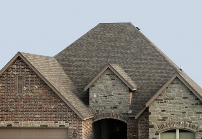 Kitchener residential shingle roof.